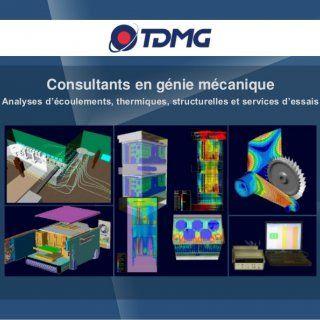 Consultants en génie mécanique Analyses d'écoulements, thermiques, structurelles et services d'essais   Consultants en génie mécanique Analyses d'écouleme. http://slidehot.com/resources/brochure-general-french.25928/