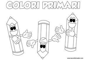 Schede didattiche sui colori primari