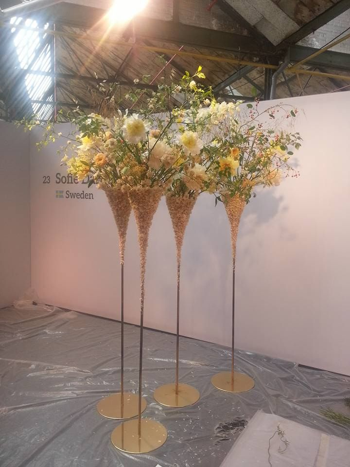 Artist Sofie Danielsson, Sweden :: Fleurop-Interflora World Cup – Berlin 2015