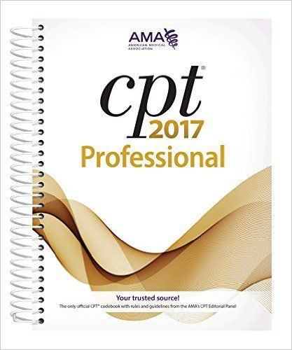 CPT 2017 Professional Edition [CPT/Current Procedural