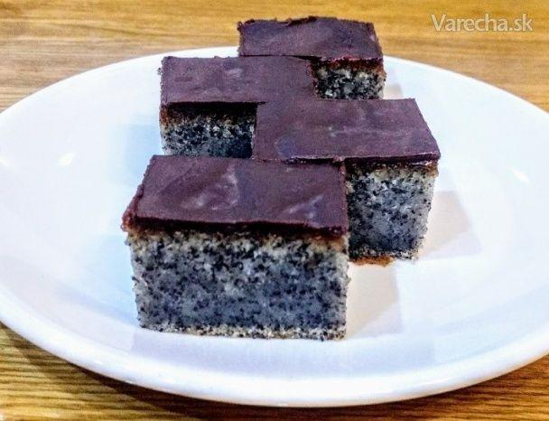 Makový koláč s džemom (videorecept) - Recept