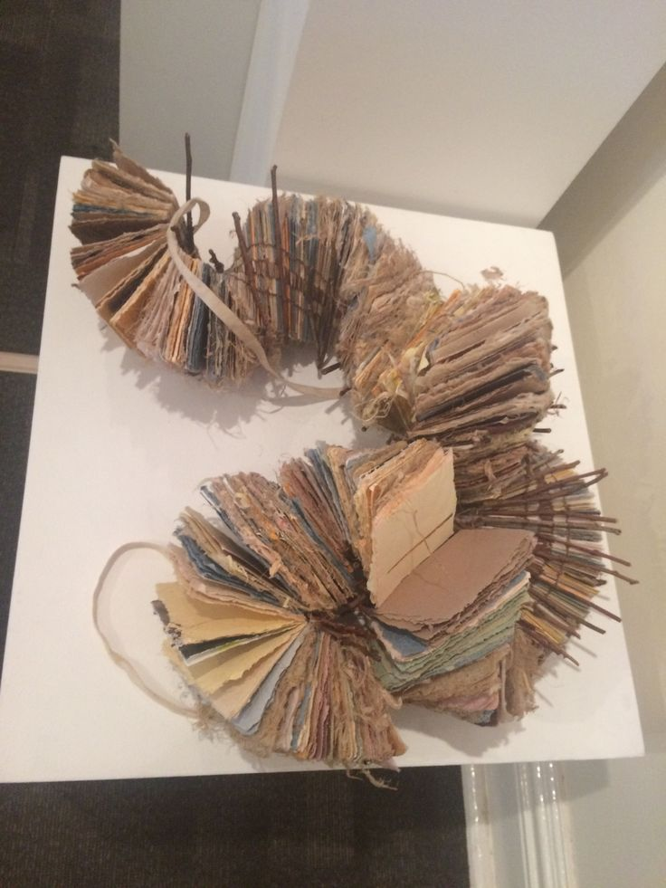 17 best images about papermaking on pinterest sculpture for Art made of paper