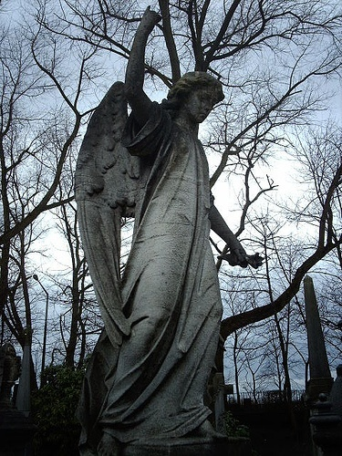 best stone angels images angel statues cemetery stone angel