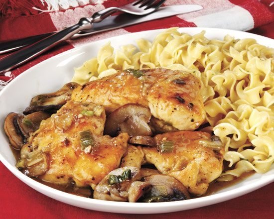 Chicken Marsala - Recipes at Penzeys Spices ~ This is a classic dish that can be ready in no time. ~ Prep. time: 15 minutes Cooking time: 30 minutes Serves: 4