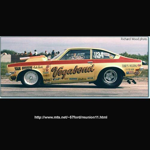 Classic Funny Car Board: Vintage Drag Racing - Pro Stock - Vegabound