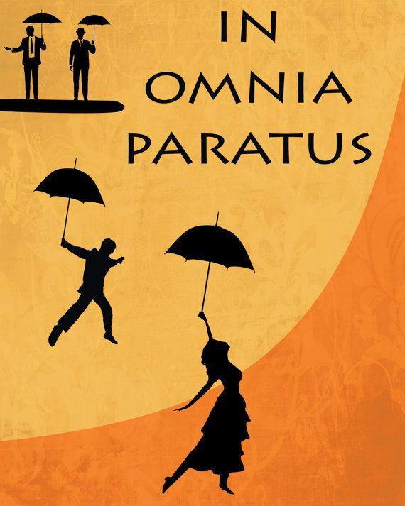 In Omnia Paratus Gilmore Girls Poster