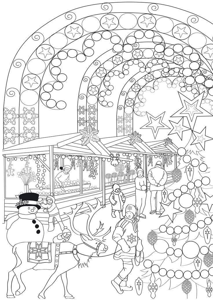 474 Best Images About Christmas Coloring Sheets On