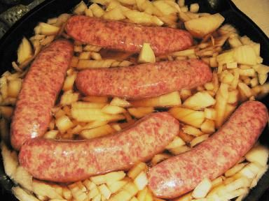 Beer Brats Poaching - Fickr user Afroswede CC by 2.0
