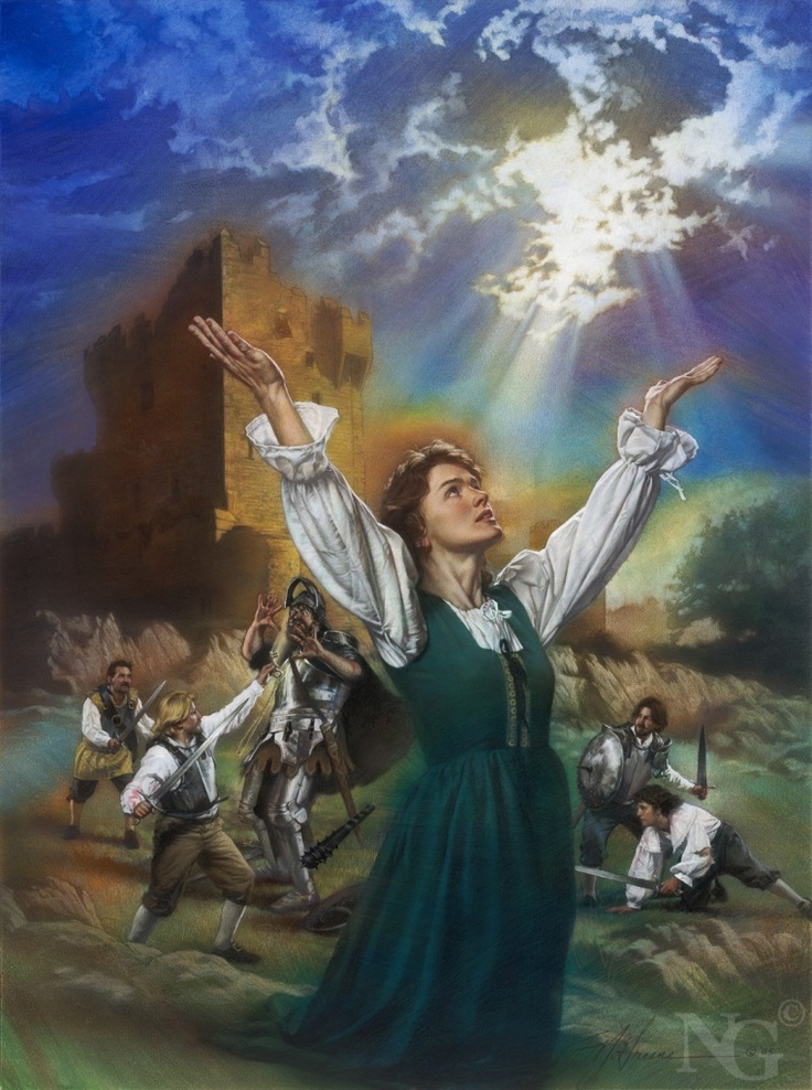 Nathan Greene Paintings Jesus