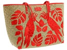 fashion/swimsuit special - And to go with your cute suit ... a cute bag!  Kate Spade, Birds of Paradise, $298
