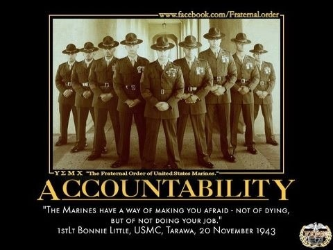 Responsibility & Accountability NCOER Bullets (Excellence)