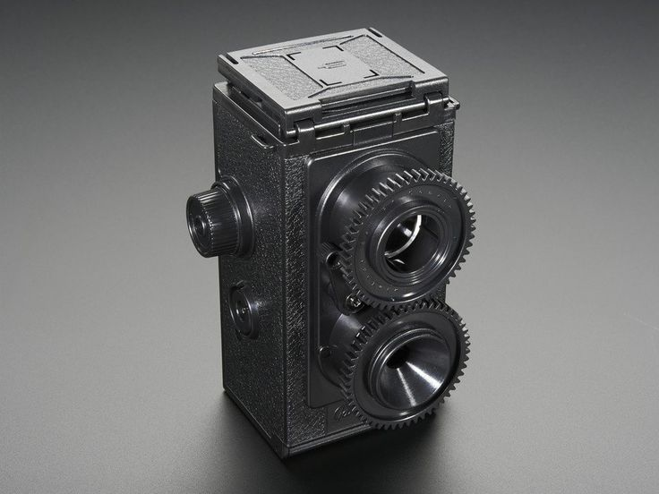 35mm Twin Lens Reflex Camera Kit from Gakken ID: 1823 - $35.95 : Adafruit Industries, Unique & fun DIY electronics and kits