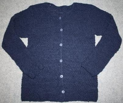 Alpaca wool jacket knitted by me. My own design.