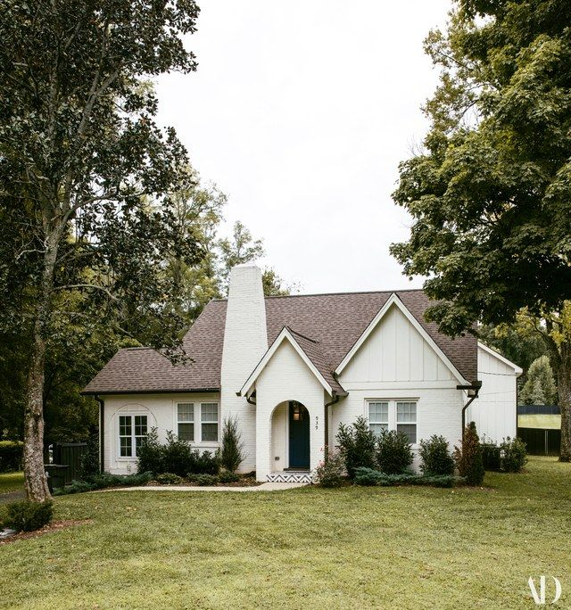 """It looks really small from the outside, but the whole thing opens up,"" Tish Cyrus says of her family's new Nashville home."