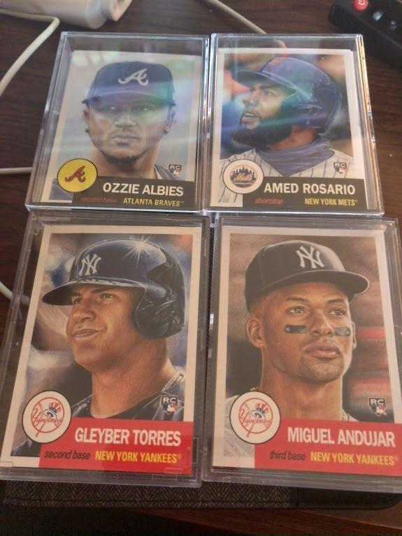 Albies, Rosairo, Torres, Andujar.