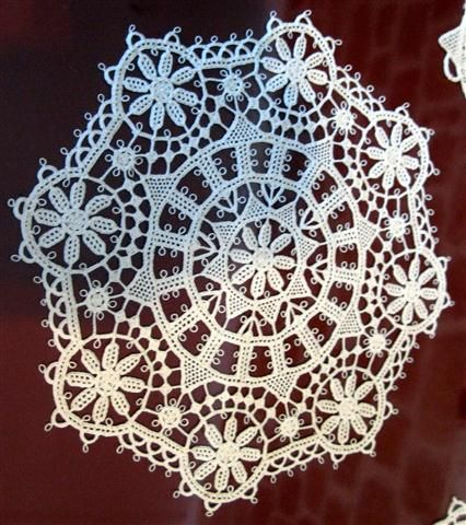Croatian lace from island Pag
