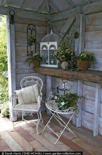 25 best ideas about rustic shed on pinterest country porches rustic porches and cute home - Plans for garden sheds decor ...