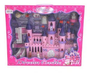 Kids Authority Mega Victorian Castle Dollhouse - Musical Castle playset with princess and furnitures by Kids Authority. $29.95. Victorian Castle Dollhouse Play set. Musical and battery operated. contains: Prince, princess, house decoration, furniture and more. Great for Kids 3 and up. Great Assortment of play sets with beutiful packaging, Great colors and designs, Sclae of 1:16