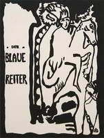 Wassily Kandinsky. Title page design for The Blaue Reiter Almanac, 1911 - 1912