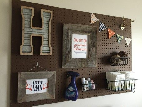 Woodland Nursery with pegboard