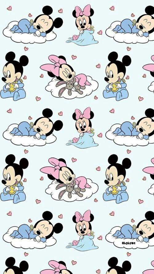 베이비 미키 미니 마우스