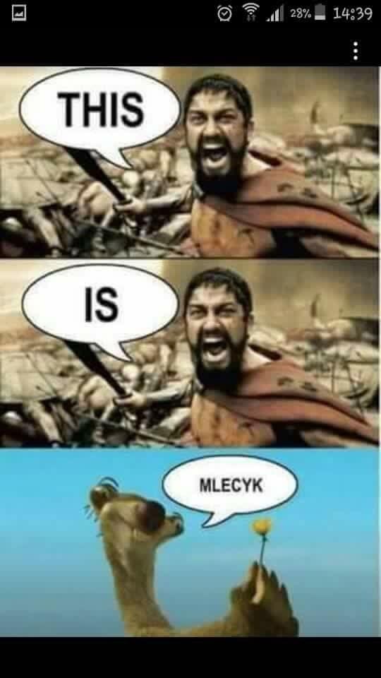 Mlecyk!