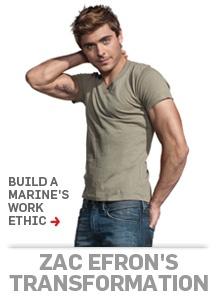 Zac Efron The Lucky One Body Zac Efron TRANSFORMED ...
