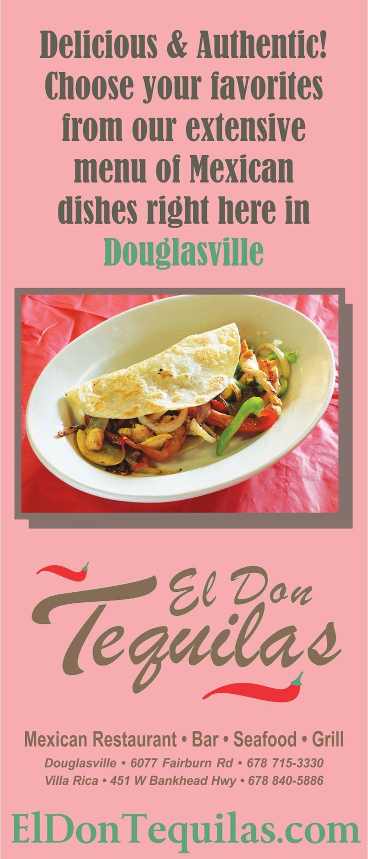 El Don Tequilas Mexican Restaurant Of Douglasville Ga
