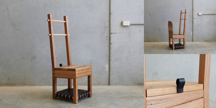 Valet Chair by CHRISTOPHER BLANK