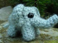 India Craft idea -   Cute Elephant to crochet - it's small so it's only supposed to take an hour or so to make.  The elephant is styled in a hindi way so can be incorporated into an India craft!  The link will take you to the blog where you can get a free PDF directions on how to make it!