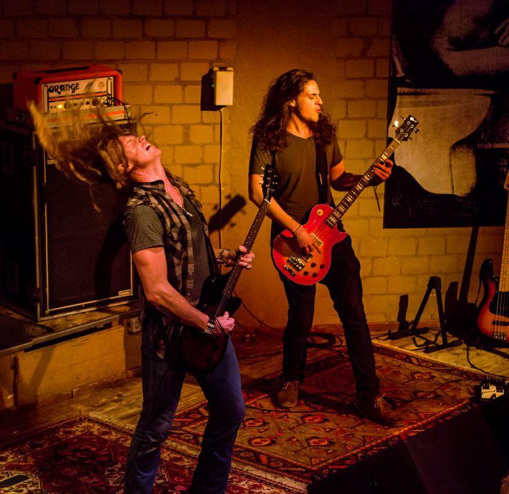 Jared james Nichols in der Blues Garage