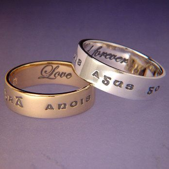 Gra Anois Agus Go Deo Poesy Ring. Sterling silver in a classic design. Great gift idea.
