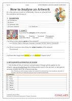 Arty Crafty Studio: Art Worksheets