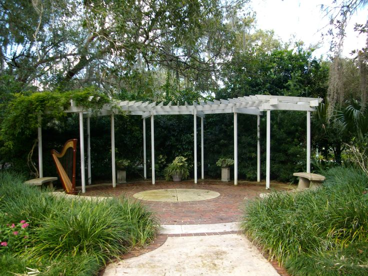 Orlando Florida destination wedding ceremony at the Trellis location