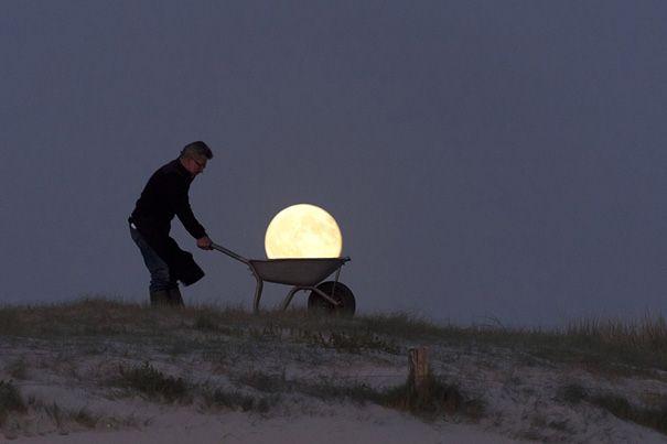farming the moon