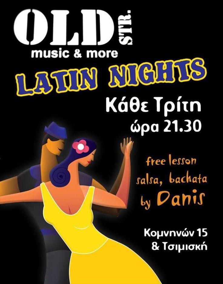 Σήμερα στις 21:30 στο @[OLDstrDownTownBar] γίνονται και Δωρεάν Μαθήματα Bachata & Salsa!! Σας περιμένουμε για μια άκρως χορευτική Βραδιά!!