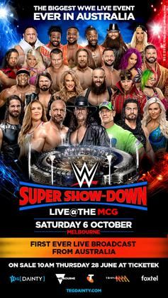Wwe Super Show Down Online Watch