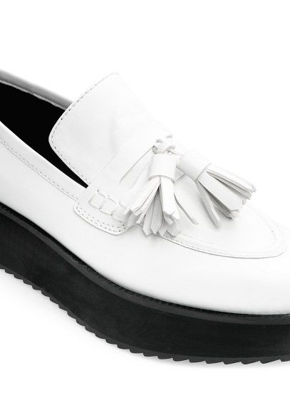 Tassel platform loafers #Mango #SS14 #Accessories