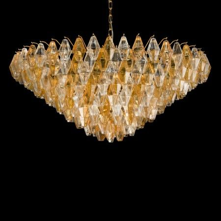 Vintage Murano Glass Chandelier Clepsydra