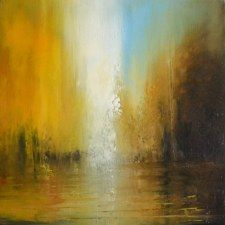 Autumn Frenzy 40x40cm Oil on canvas SOLD