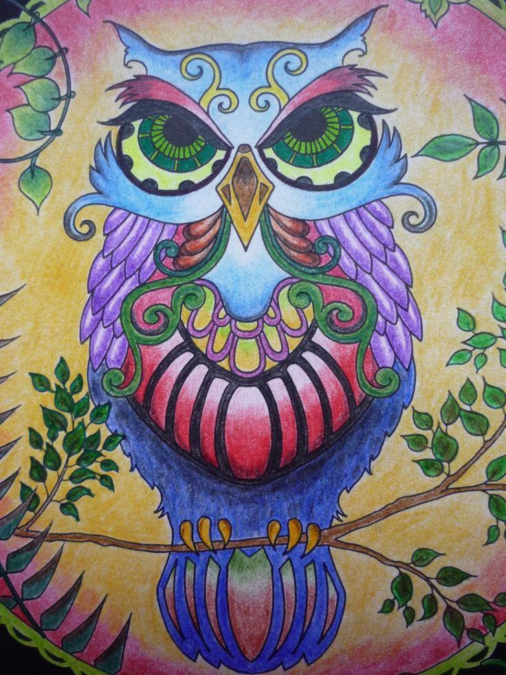 #johannabasford #enchantedforest #zaczarowanylas #hakumkakum