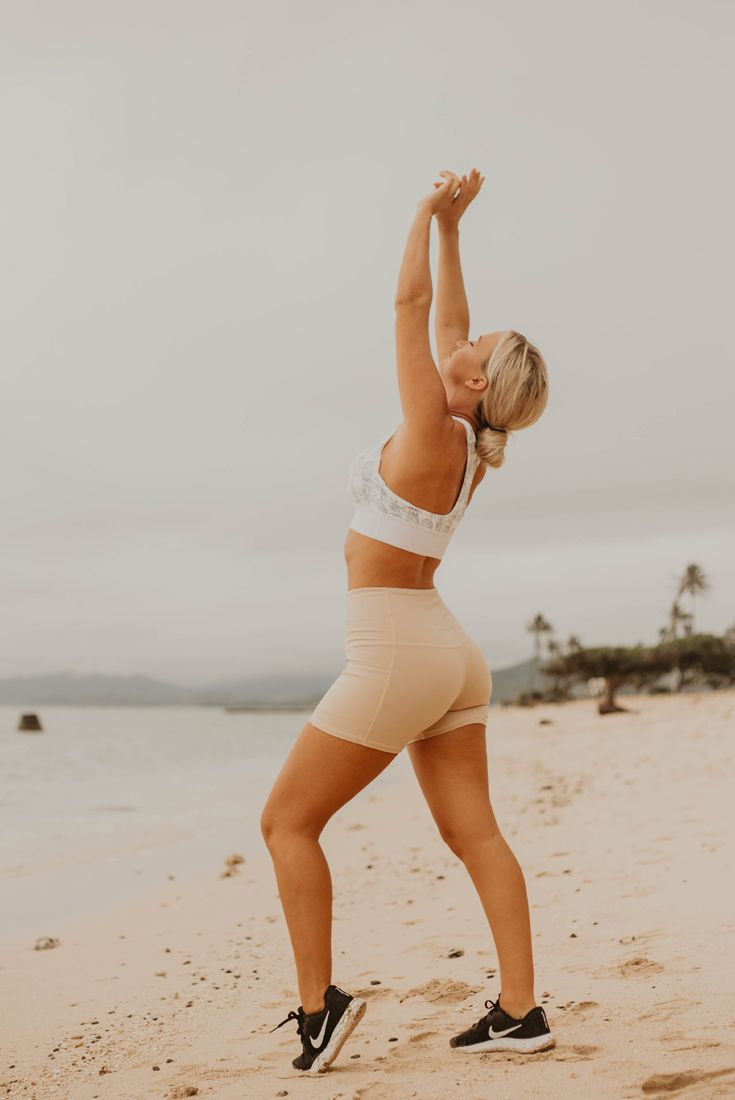 Aloha Nude pin on cute work out outfits