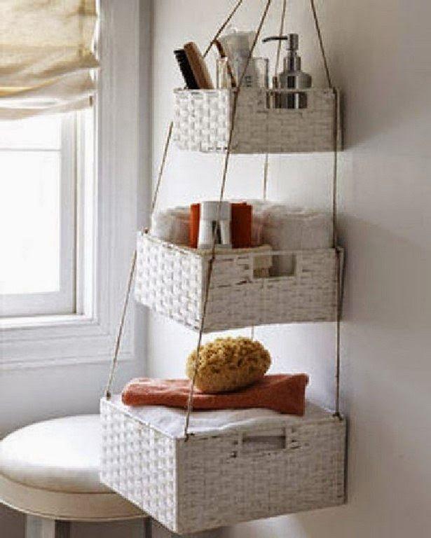 Soluciones para ganar almacenaje en el baño   Decorar tu casa es facilisimo.com