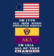 Alpha Kappa Lambda, because they changed the world of Fraternities in 1914.