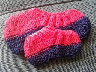 Tricotando com a Kah: Sapatinho tricô - COM RECEITA
