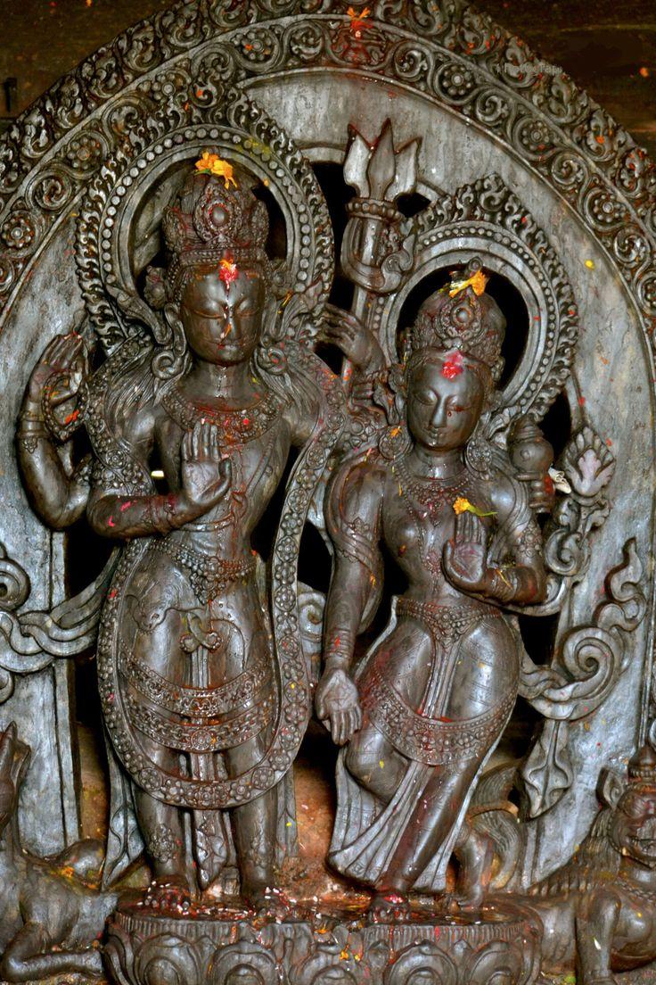 Shiva and Parvati, Nepal