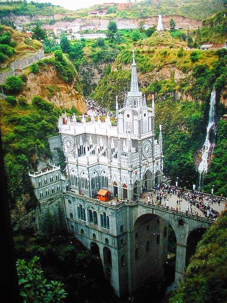 Santuario de Las Lajas Colombia, Ipiales, Nariño, Colombia