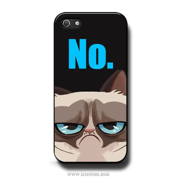 Grumpy Cat NO. iPhone 5 / 5s Cases Covers Skins #grumpy #cat #iphone5 #iphone5s #iphone #case #ebay