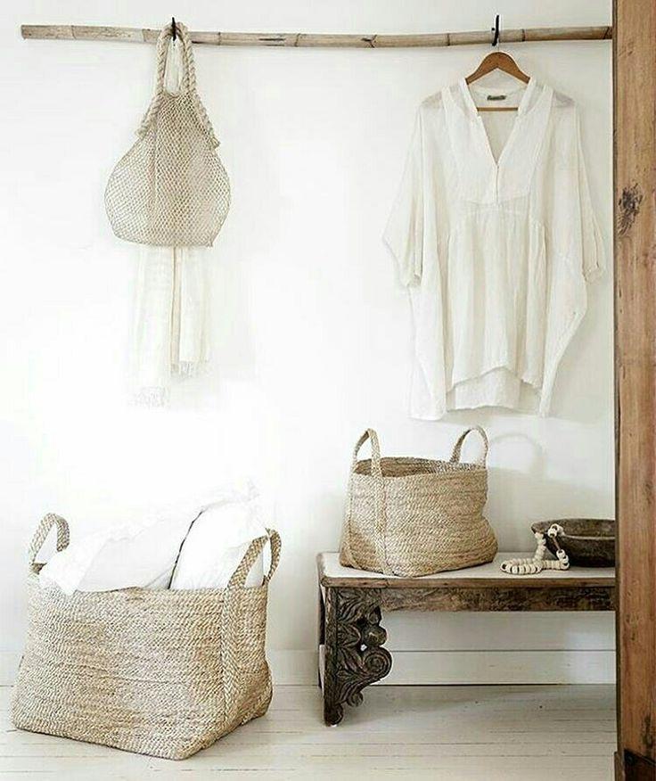 + #wardrobe #nature #baskets