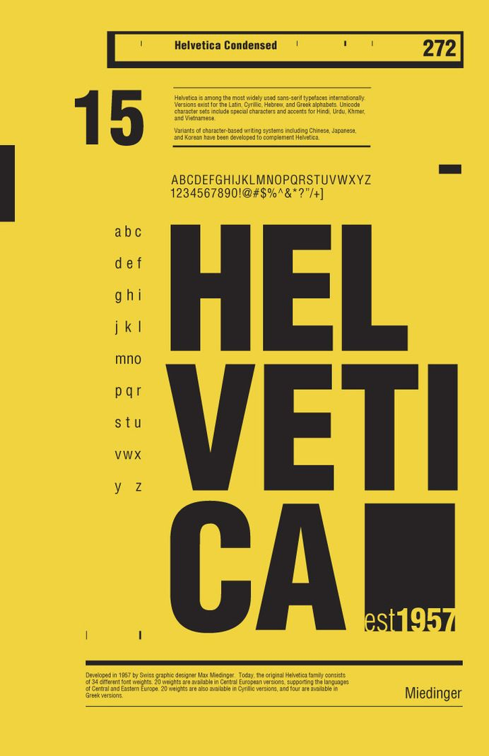 50 Years of Helvetica by R2works — Designspiration